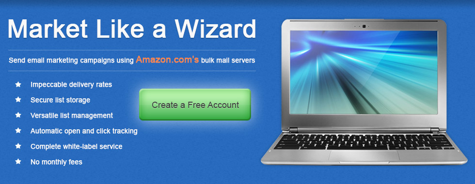 MailWizard Bulk Email Service - Mail Wizard